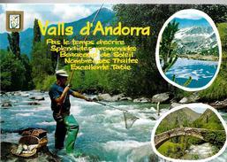 _6ik-632: Vall D'Andorra....N°145: > St-Andries B. - Forelvisser.. - Andorre
