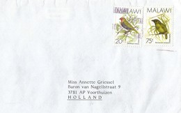 Malawi 1988 Blantyre Green Twinspot Bird Green Barbet Cover - Malawi (1964-...)