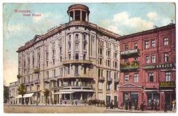 (Pologne) 004, Warszawa, Hotel Bristol, Timbre Russe - Polonia