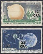 FRANCE Francia Frankreich (colonie) - 1963 - Isola Di Réunion -  Serie Completa Yvert 355/356 Nuovi MNH - Réunion (1852-1975)