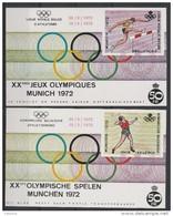 E 121/122 Munchen 1972 Oblit/gestp - Commemorative Labels