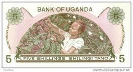UGANDA P. 15 5 S 1982 UNC - Uganda