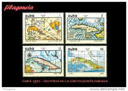 CUBA MINT. 1973-23 DESARROLLO DE LA CARTOGRAFÍA CUBANA. MAPAS - Ongebruikt