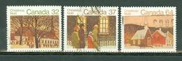 Canada 1983 -  1039/1041  - Yv. 862/864 -  Used - Christmas