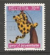 004511 Switzerland Pro Juventute 2001 70c FU - Pro Juventute