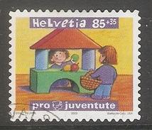 004512 Switzerland Pro Juventute 2003 85c FU - Pro Juventute