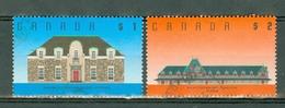 Canada 1989 -  1274/1275  - Yv. 1094/1095 -  Used