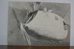 Germany Luftschiff LZ127 Graf Zeppelin Russia Flight Maschinengondel Postcard 86 - Germany