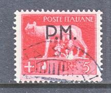 Italy M 12  (o)  P.M. - 5. 1944-46 Lieutenance & Umberto II