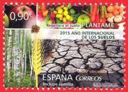 España. Spain. 2015 (**) Año Internacional De Los Suelos