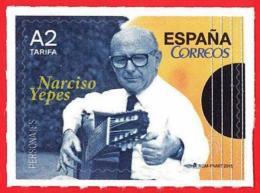 España. Spain. 2015 (**) Narciso Yepes. Guitarrista. Guitar Player