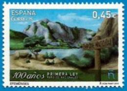 España. Spain. 2016. 100 Años Primera Ley Parques Nacionales