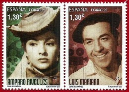 España. Spain. 2016. Cine Español. Amparo Rivelles Y Luis Mariano