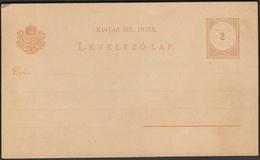 Hungary Postal Stationery 2 Filler