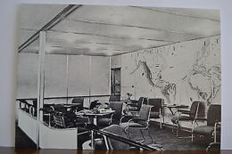 Germany LZ129 Hindenburg Zeppelin 8ºFlight USA 1936 Gesellschaftsraum PC398 - Unclassified