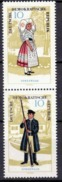 DDR 1964, Mi.Nr. 1076-1077 (SZd 66), Volkstrachten (I), Postfrisch (390) - [6] Repubblica Democratica