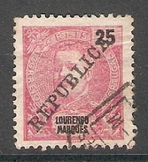004534 Lourenco Marques 1911 25 Reis FU - Lourenco Marques