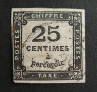 LOT R1631/1145 - TIMBRE TAXE N°5 - CàD - Cote : 65,00 € - 1859-1955 Oblitérés