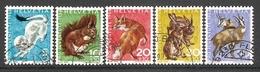 004546 Switzerland Pro Juventute 1966 Set FU - Pro Juventute