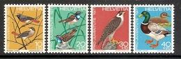 004554 Switzerland Pro Juventute 1971 Set MNH - Pro Juventute