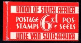 South Africa - 1937 Razor Blade Booklet (**) SG SB11 - Libretti
