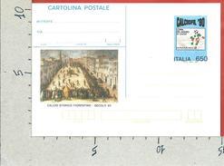 ITALIA REPUBBLICA CARTOLINA POSTALE MNH - 1990 - Calciofil 1990 - £ 650 - CP216 - Ganzsachen