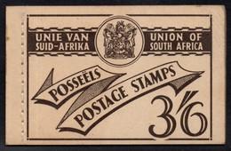 South Africa - 1951 3s6d Booklet (**) SG SB19 - Libretti
