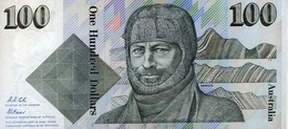 * AUSTRALIA 100 DOLLARS ND (1992) P-48d UNC SIG. COLE & FRASER [AU216d] - Emisiones Gubernamentales Decimales 1966-...