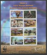 MOZAMBIQUE - MNH - Animals - Wild Animals - WWF