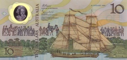 *  AUSTRALIA 10 DOLLARS ND (1988) P-49a UNC COMMEMORATIVE [AU217a] - Decimal Government Issues 1966-...