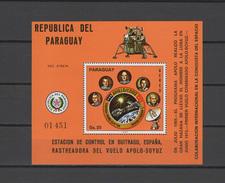 Paraguay 1976 Space Apollo - Soyuz S/s MNH - Space