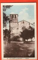 EAG-25 Montpezat-de-Quercy L'Eglise. Cachet Castelnau Ses Beaux Chasselas, Son Air Pur 1952. - Montpezat De Quercy