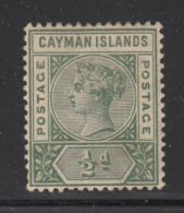 Cayman Islands MH 1900 Scott #1 1/2p Victoria - Iles Caïmans