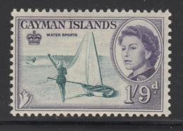 Cayman Islands MH 1962 Scott #164 1sh9p Water Sports, Elizabeth II - Iles Caïmans