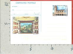 ITALIA REPUBBLICA CARTOLINA POSTALE MNH - 1998 - Teatro Della Fortuna - £ 800 - CP236 - 6. 1946-.. Repubblica