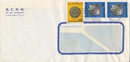 Morocco Cover Sent To Denmark Casablanca 25-5-1976