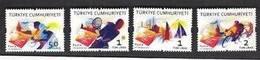 TURKEY 2012 MNH - Istanbul European Capital Of Sports, Tennis, Cycling, Complete Set 4v. - Ongebruikt