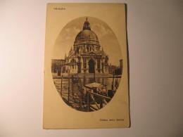 CARTOLINA FORMATO PICCOLO -   VENEZIA CHIESA DELLA SALUTE    - B 2154 - Venezia