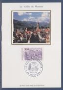 = La Vallée De Munster Carte Postale 1er Jour 68 Munster 6.7.91 N°2707 - Cartoline Maximum