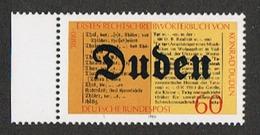 Deutsche Bundespost, 100 Jahre Duden-Wörterbuch 1980, (Mi.Nr. 1039), Postfrisch.