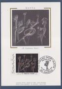 "= Série Artistique ""Ô Tableau Noir"" Carte Postale 1er Jour Amiens 30.9.91 N°2731 Oeuvre De Roberto Matta - Cartoline Maximum"