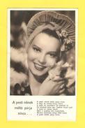 Postcard - Film, Actor, Szeleczky Zita     (25148) - Schauspieler