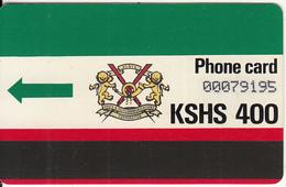 KENYA(Autelca) - K.P.T.C. Logo(no Notch, Large CN), First Issue 400 Units, Used - Kenya