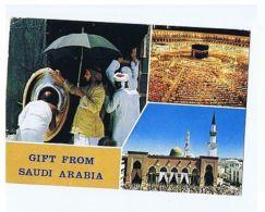 SAUDI ARABIA - 3 SIGHTS  - AZMAT SHEIKH - 1976 - STAMP ( 1545 ) - Postcards