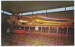 MALAYSIA - PENANG - SIAMESE TEMPLE GOLDEN BUDDHA - EDIT M. NOORDIN 1960s ( 1586) - Postcards
