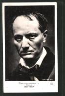 CPA Porträt Des Dichters Baudelaire 1821-1867 - Ecrivains