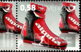 Slovenia - 2015 - Alpina Cross Country Ski Boot - Mint Stamp - Slovénie