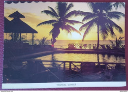 MAURITIUS - ILE MAURICE - TROPICAL SUNSET - Mauritius