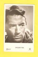 Postcard - Film, Actor, Gregory Peck    (25222) - Schauspieler