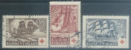 Finland   1937   Sc#B24-6  Ships Charity Set Used  2016 Scott Value $15.25